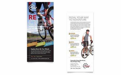 Rack Card Templates Designs