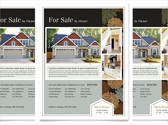 Real Estate Brochure Template Awesome 38 Real Estate Flyer Templates Psd Ai Word Indesign