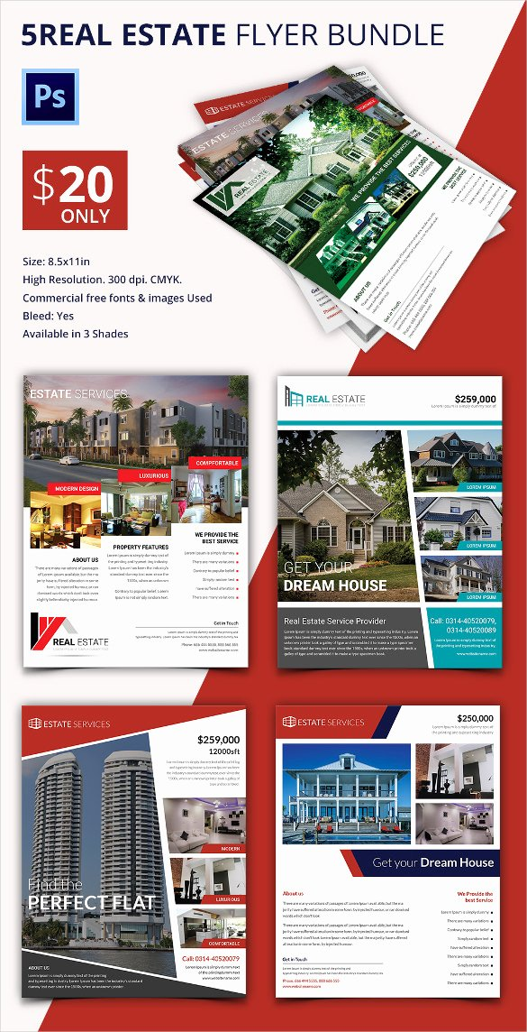 Real Estate Brochure Template Best Of Real Estate Flyer Template 37 Free Psd Ai Vector Eps
