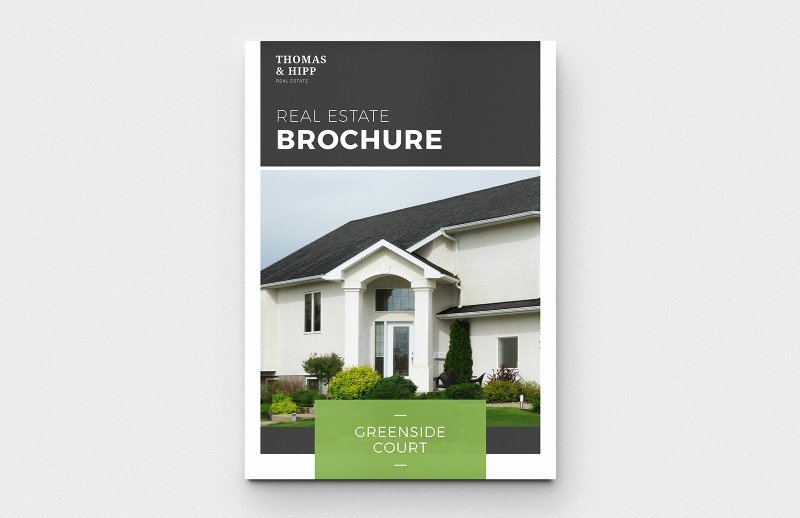 Real Estate Brochure Template Elegant Real Estate Brochure Template — Medialoot