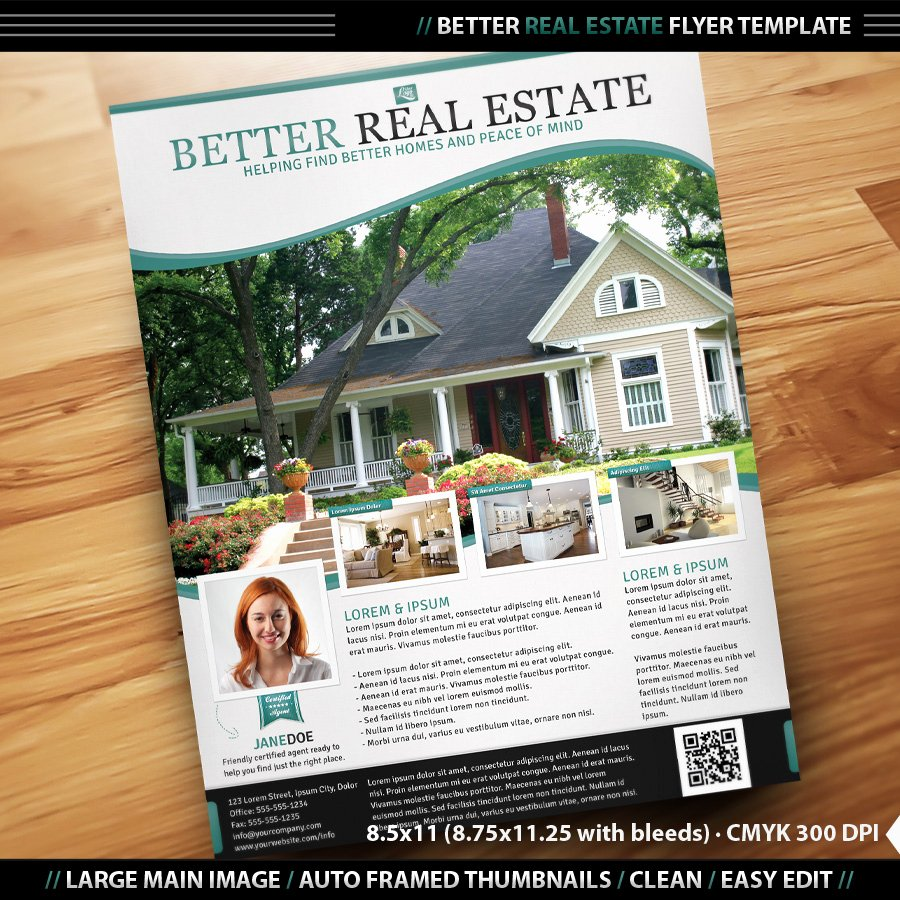 Real Estate Brochure Template Inspirational Real Estate Flyer Inenx