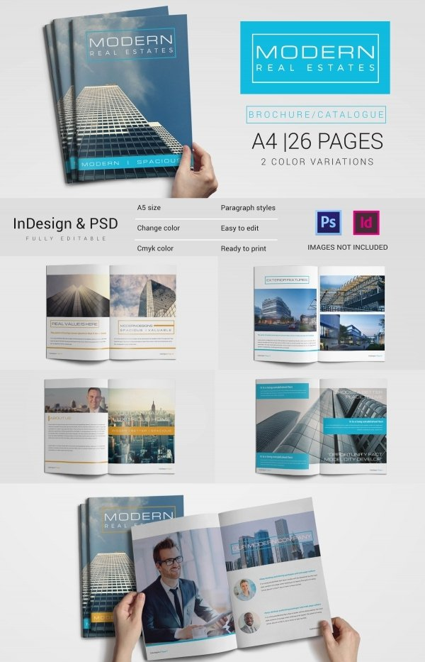 Real Estate Brochure Template Lovely 16 Real Estate Brochures – Free Psd Eps Word Pdf