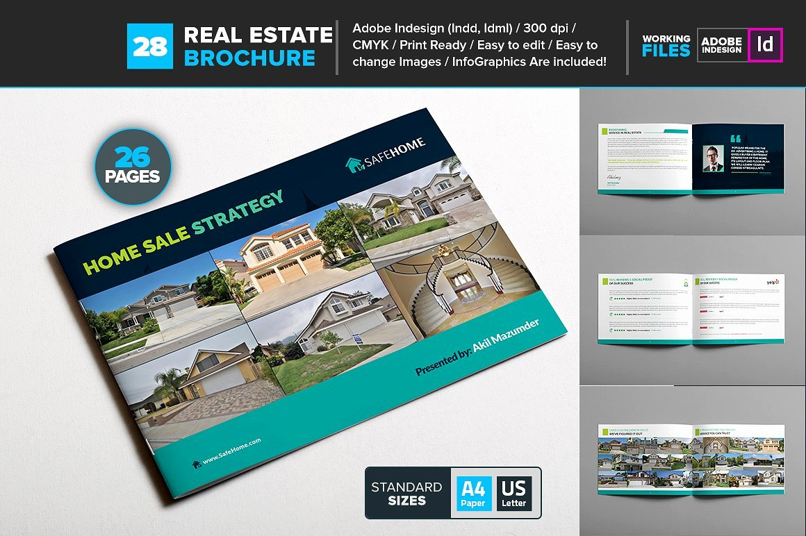 Real Estate Brochure Template Lovely Real Estate Brochure Template 28 Brochure Templates