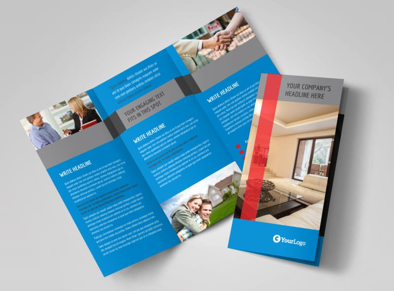 Real Estate Brochure Template Luxury Residential Real Estate Brochure Template