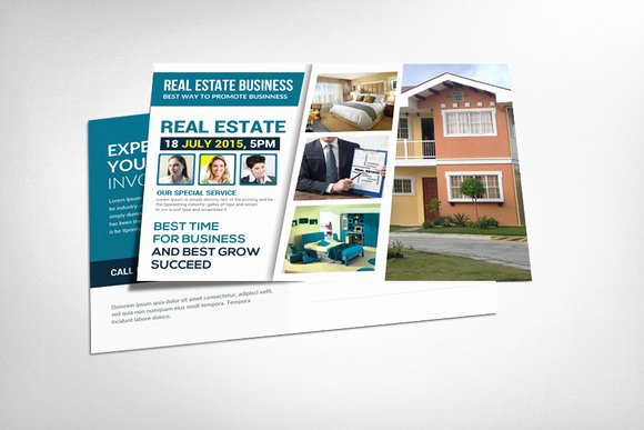 Real Estate Postcard Template Awesome 20 Nice Real Estate Postcards Templates