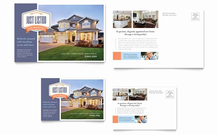 Real Estate Postcard Template Best Of Real Estate Marketing Postcards – Quick & Easy Templates