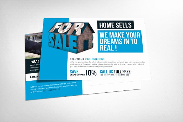Real Estate Postcard Template Luxury 18 Real Estate Postcard Templates – Free Sample Example