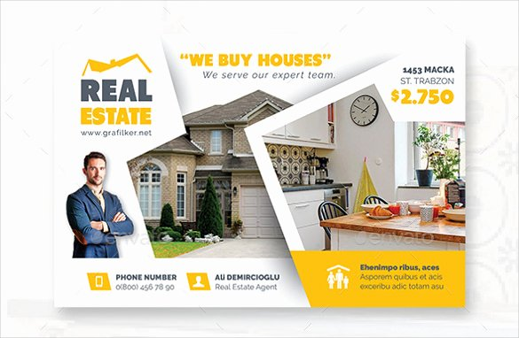 Real Estate Postcard Template New Real Estate Postcard Template – 22 Free Psd Vector Eps
