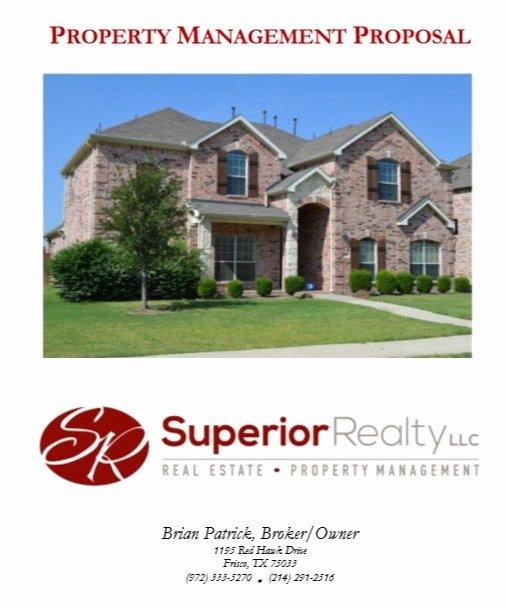 Real Estate Proposal Template Fresh 9 Free Sample Real Estate Proposal Templates Printable