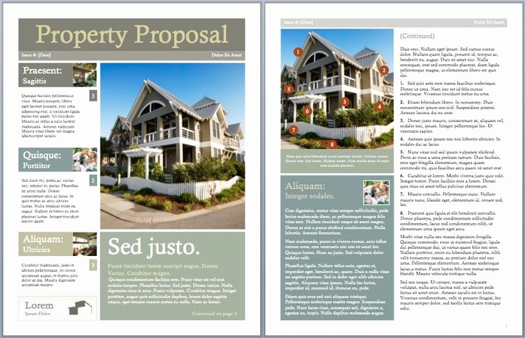 Real Estate Proposal Template Lovely Pinterest • the World's Catalog Of Ideas