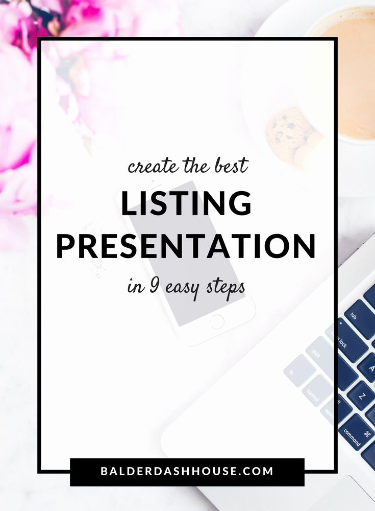 Realtor Listing Presentation Template Lovely 10 Ideas About Real Estate Sales On Pinterest