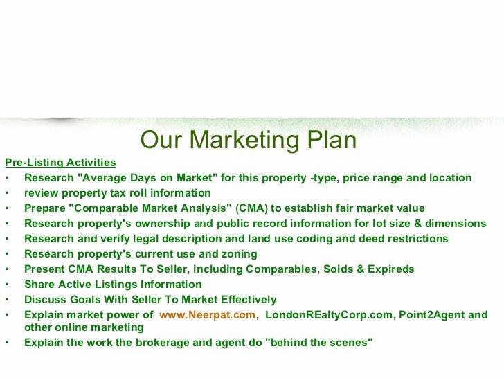 Realtor Listing Presentation Template Luxury Free Real Estate Listing Presentation