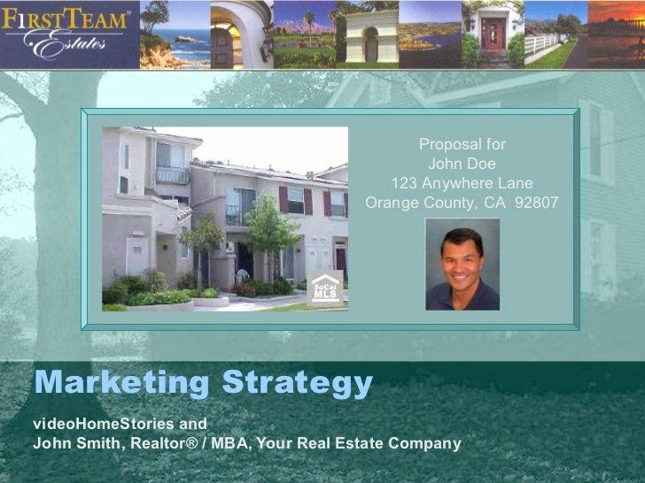 Realtor Listing Presentation Template Luxury Sample Real Estate Agent Listing Presentation