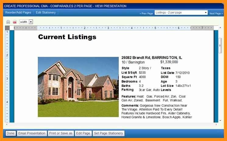 Realtor Listing Presentation Template New 6 7 Real Estate Listing Description Examples