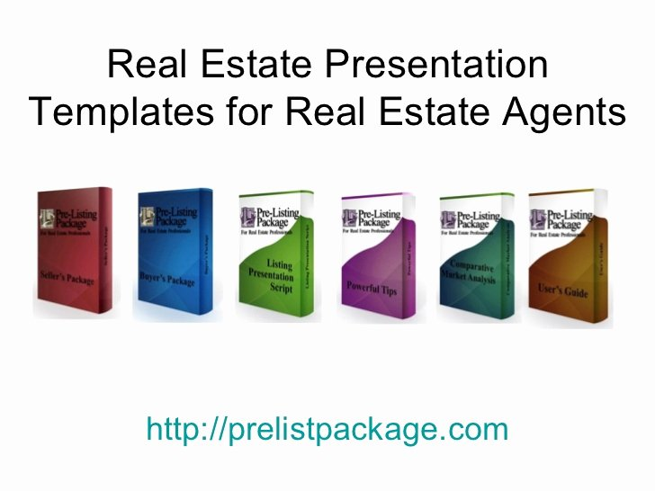 Realtor Listing Presentation Template New Sample Real Estate Presentation Templates