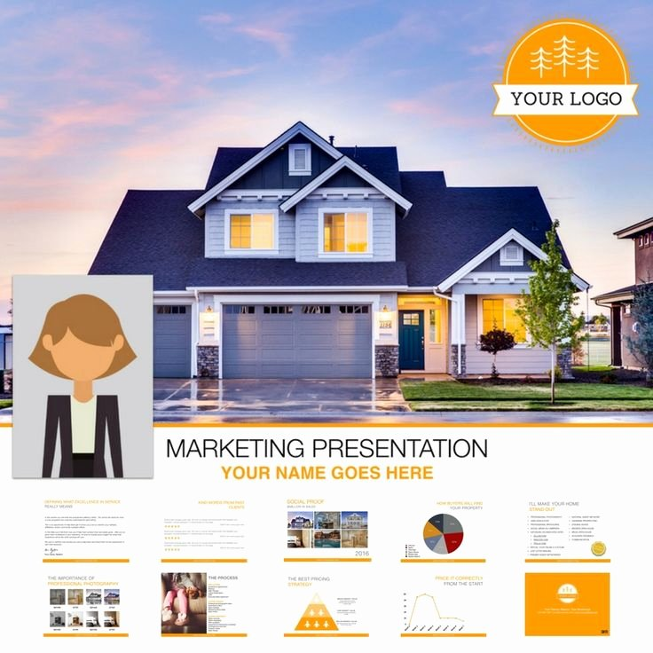 Realtor Listing Presentation Template Unique Real Estate Listing Presentation 57 Best Templates for