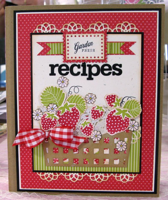 Recipe Book Cover Template Beautiful sincerely Yours More Cookbook Fun