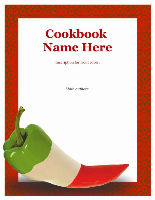 Recipe Book Cover Template Best Of 7 Best Of Recipe Book Cover Template Free Recipe