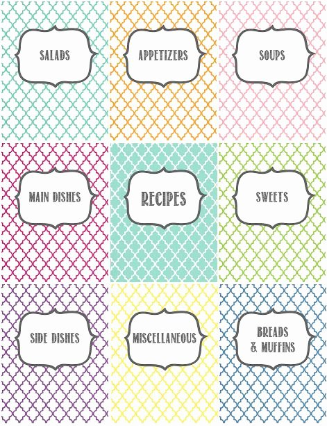 Recipe Book Cover Template Inspirational 17 Best Ideas About Recipe Binders On Pinterest