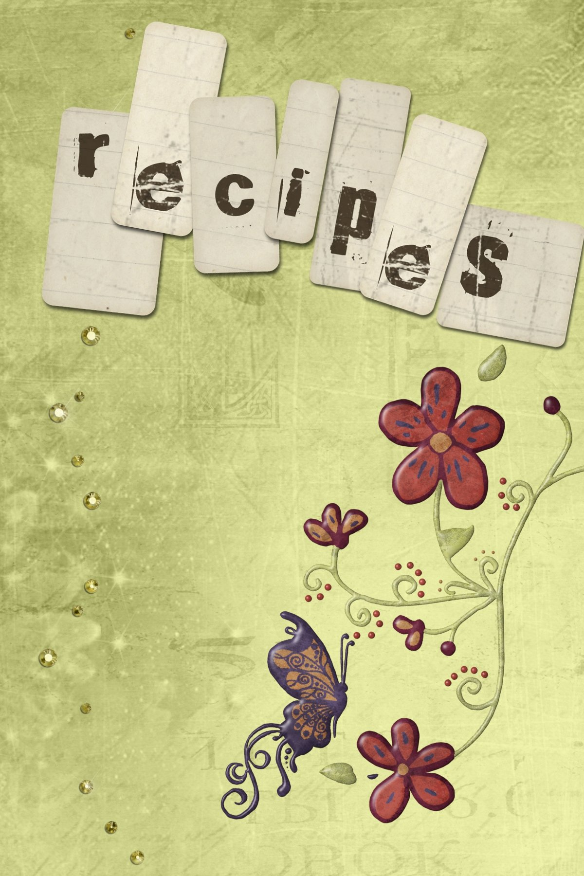 Recipe Book Cover Template Inspirational Recipe