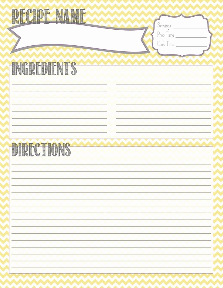 Recipe Book Template Free Elegant 25 Best Ideas About Printable Recipe Cards On Pinterest