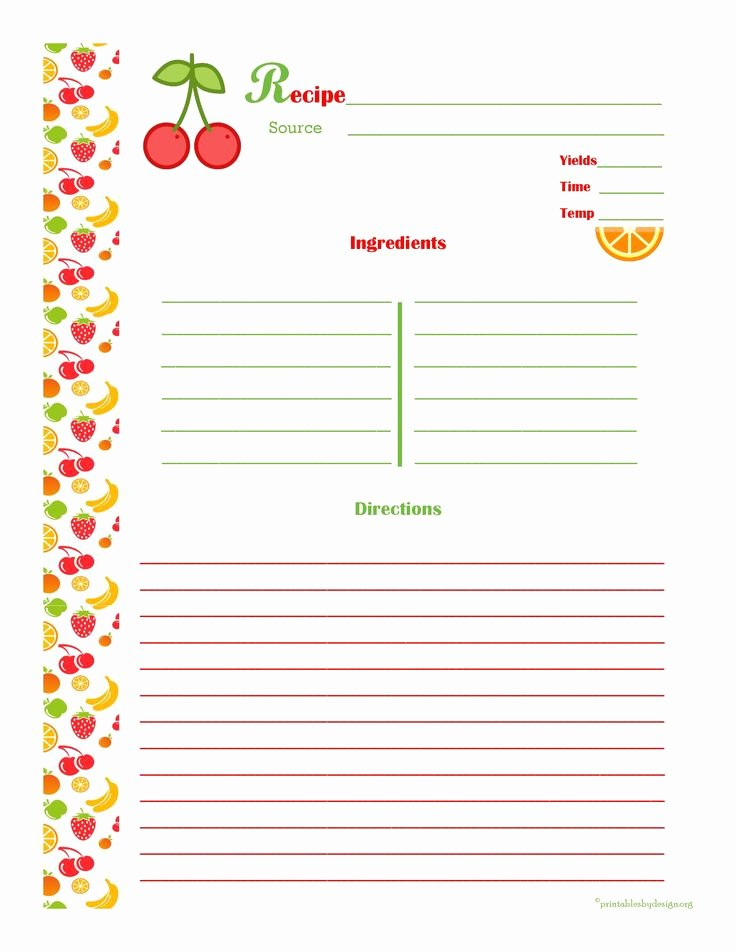 Recipe Book Template Free Fresh 1000 Images About Cookbook assembly Ideas On Pinterest