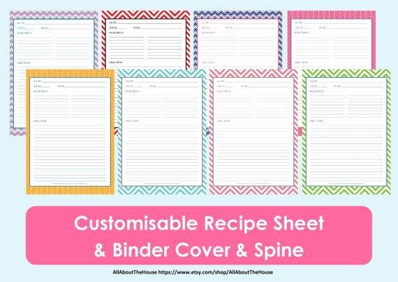 Recipe Book Template Free New Printable Recipe Sheet Template Recipe Card Recipe