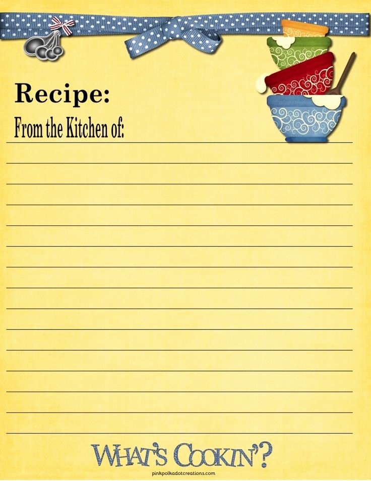Recipe Book Template Pages Awesome 65 Best Images About Recipe Cards On Pinterest