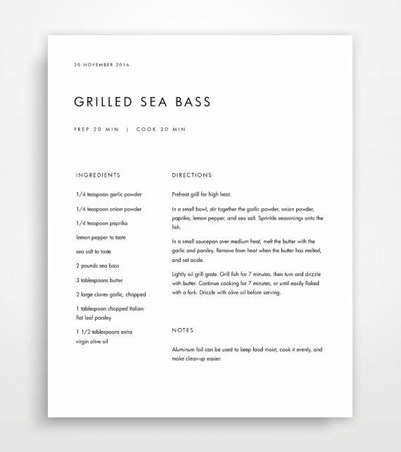 Recipe Book Template Pages Elegant Recipe Binder Recipe Book Recipe Templates Recipe Binder