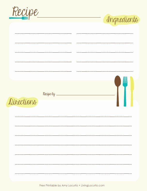Recipe Book Template Pages Fresh Free Recipe Book Templates Printable