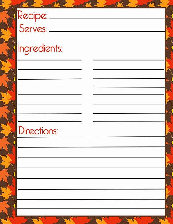 Recipe Book Template Pages Lovely 524 Best Printable Recipe Cards Images On Pinterest