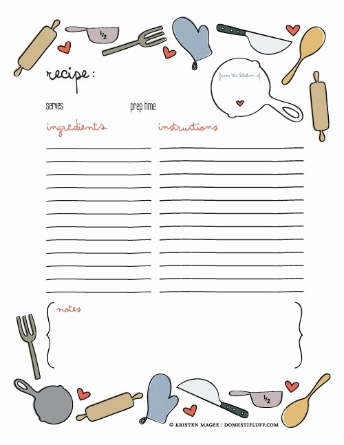 Recipe Book Template Pages Luxury 25 Best Ideas About Recipe Templates On Pinterest