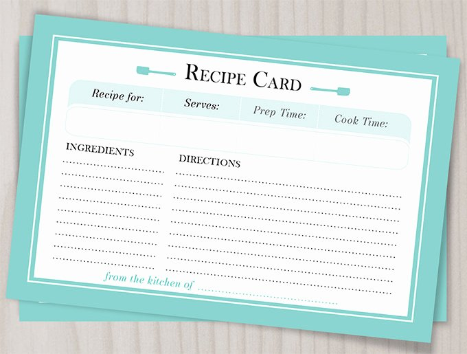 Recipe Page Template Word Awesome 43 Amazing Blank Recipe Templates for Enterprising Chefs