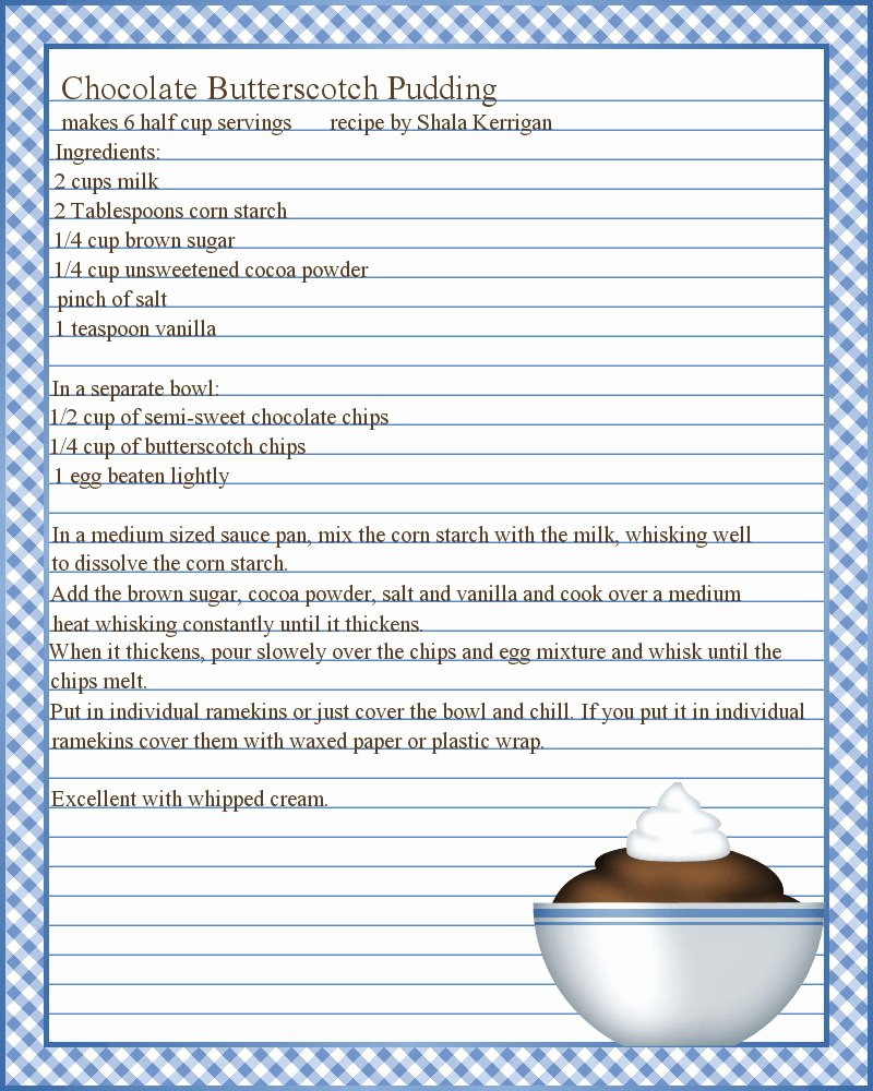 Recipe Page Template Word Lovely Microsoft Word Recipe Template