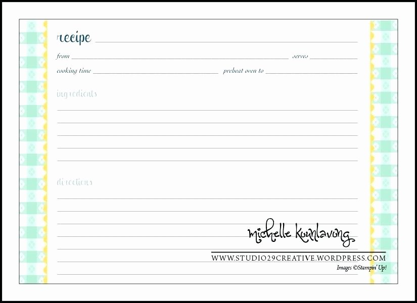 Recipe Template for Mac New Recipe Card Templates for Mac Goal Goodwinmetals