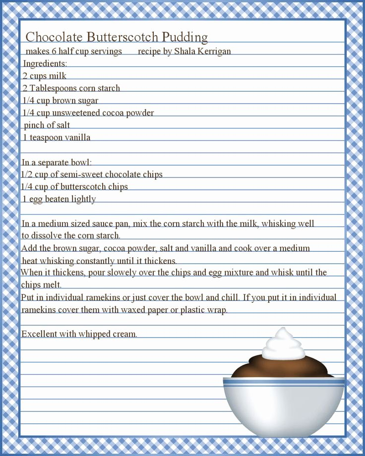 Recipe Template for Pages Beautiful Best 25 Recipe Templates Ideas On Pinterest