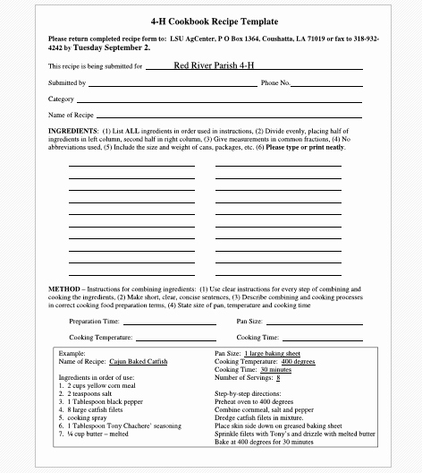 Recipe Template for Word Best Of Cookbook Templates Create Your Own Recipe Book Word Pdf