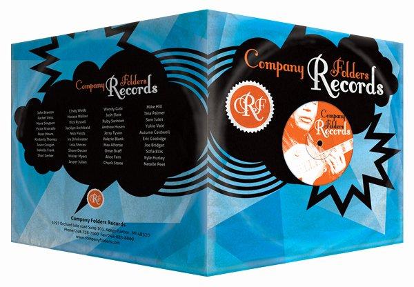 Record Label Web Template Fresh Stormcloud Record Label Folder Design Template Free Psd