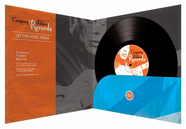 Record Label Web Template Luxury Stormcloud Record Label Folder Design Template Free Psd