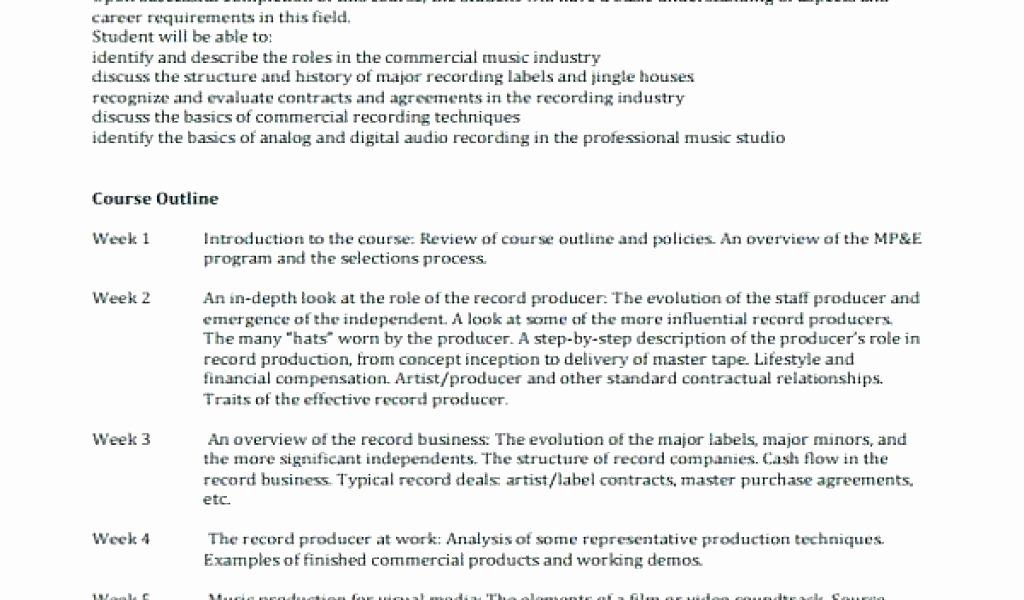 Recording Studio Contract Template New Producer Contract Template Music Producer Contract