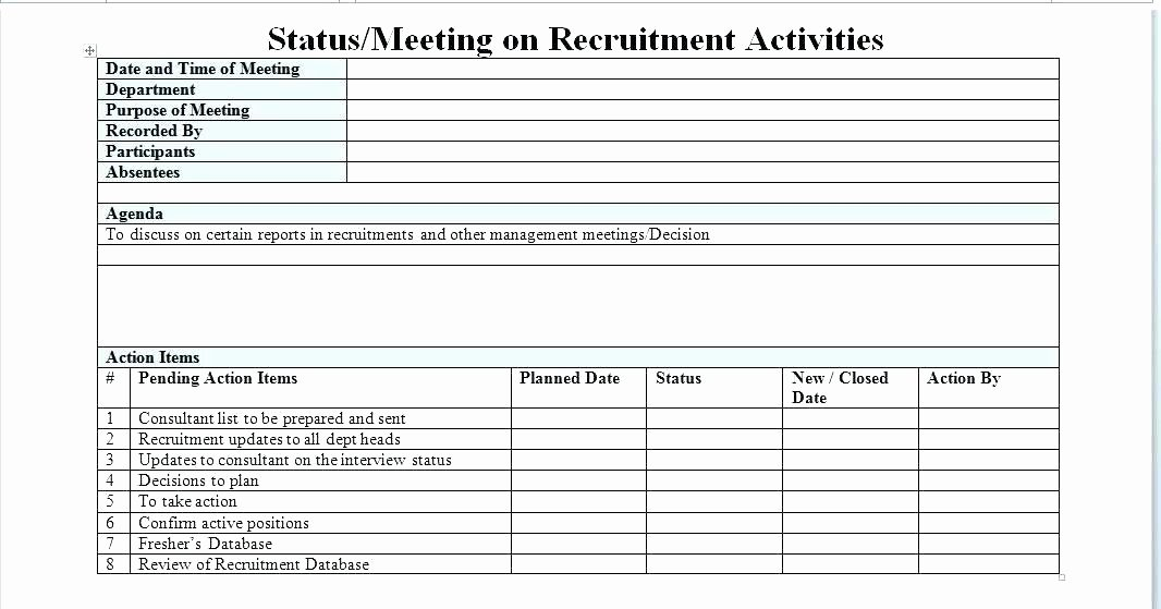 Recruiting Metrics Excel Template Lovely Template Free Download Recruitment Strategy Plan Template