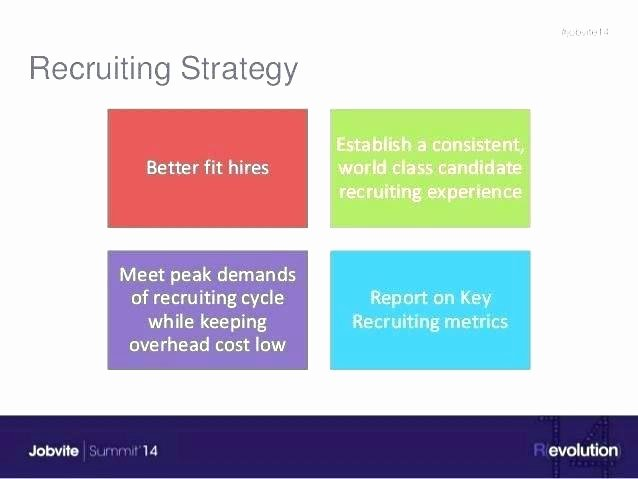 Recruitment Strategy Plan Template New Recruiting Metrics Template Recruiting Plan Template