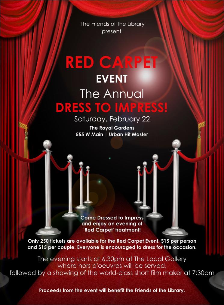 Red Carpet Invitation Template Lovely Red Carpet Invitation