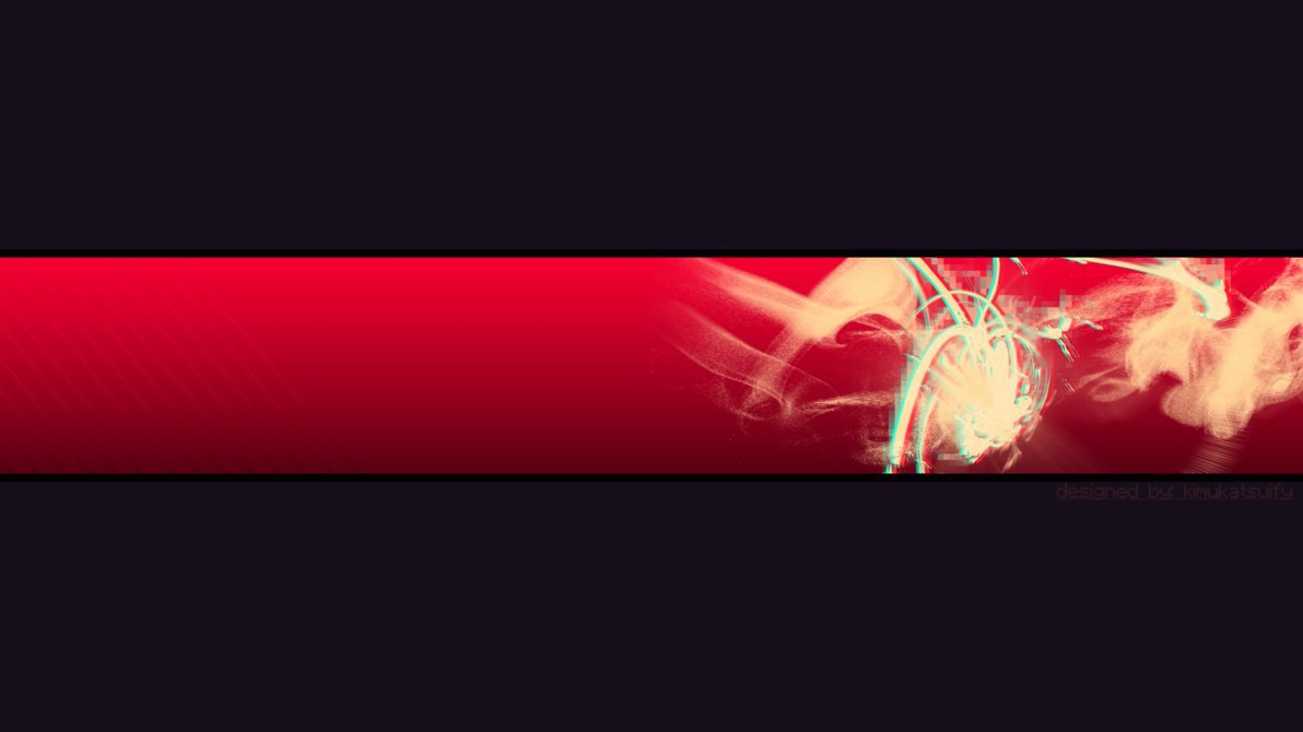 Red Youtube Banner Template Elegant Banner Wallpaper Wallpapersafari