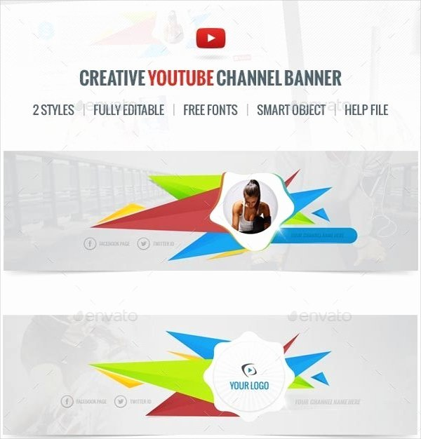 Red Youtube Banner Template New Banner Templates – 21 Free Psd Ai Vector Eps
