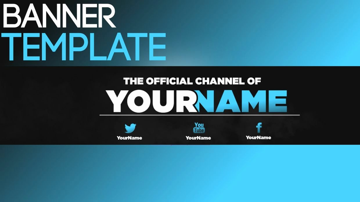 Red Youtube Banner Template New Youtube Banner Template 2