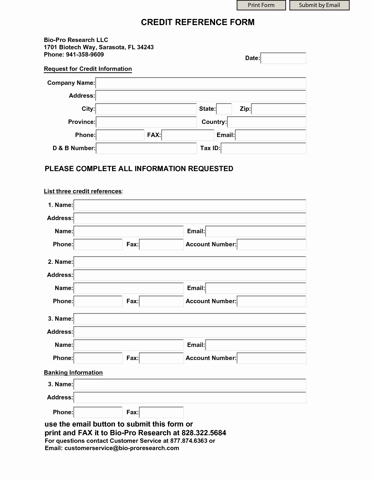 Reference Check form Template Lovely Business Credit Reference Template Free Printable Documents