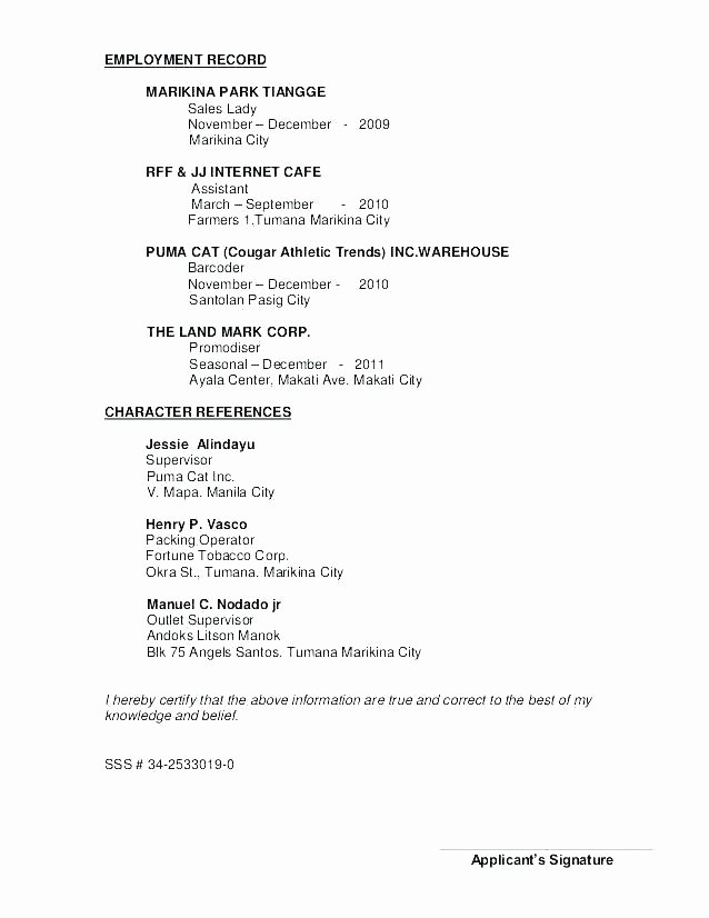 References Template Google Docs New Resume and Reference Template Example References for