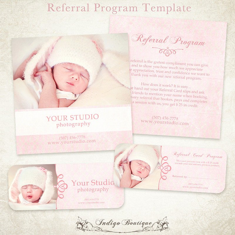 Referral Card Template Free Awesome Graphy Referral Card Template 5x5 Card & Rep Card