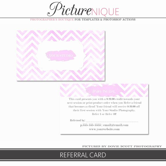 Referral Card Template Free Best Of Referral Card Template Front and Back Psd Template